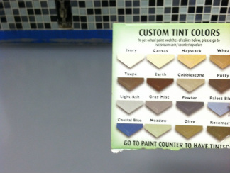 Rustoleum Countertop Paint Directions : ... LOVE with my